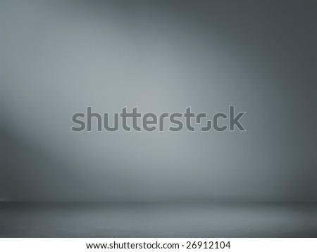 Spotlight studio interior, perfect background