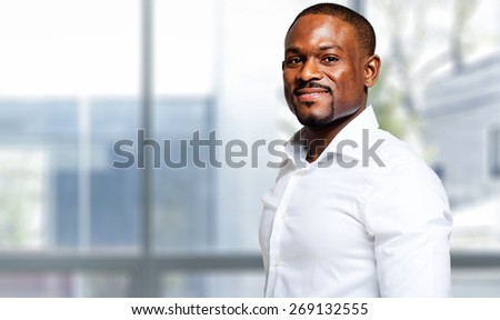 Mature african businessman in a modern office #269132555