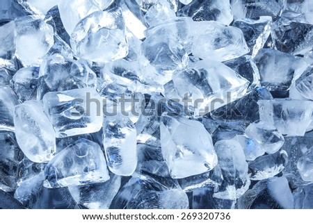Background with ice cubes. #269320736
