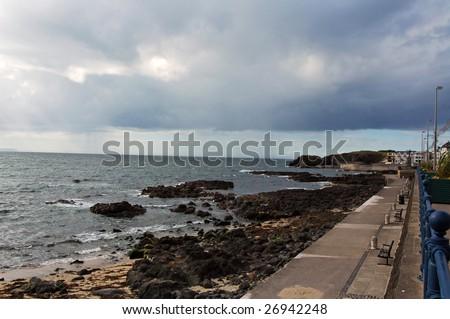 Atlantic docking on the coast in Ireland. #26942248