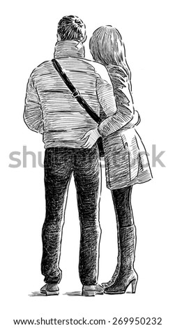 young couple #269950232