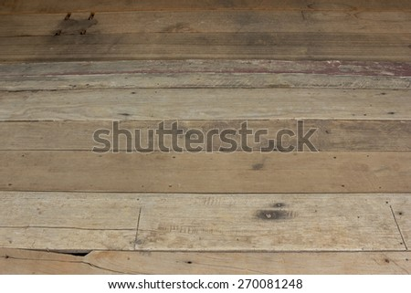 old wood floor #270081248