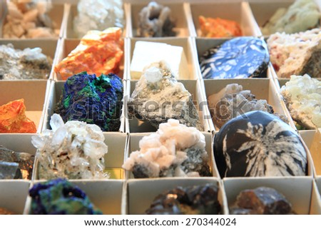 color minerals as very nice natural background #270344024