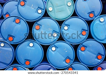 Chemical tank stock With exports
