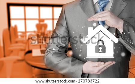 home lock concept. #270783722