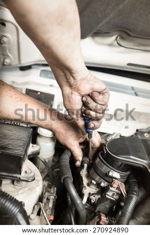 repair car , master engine parses #270924890