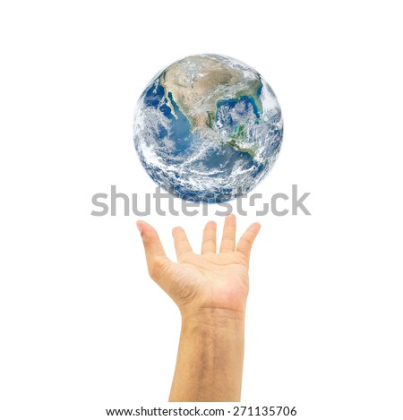 Saving world environment concept. Elements of this image furnished by NASA  #271135706