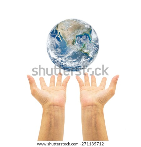 Save earth campaign. Elements of this image furnished by NASA  #271135712