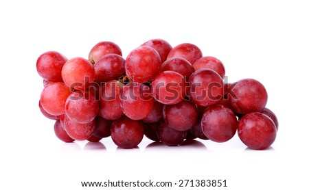 grapes isolated on a white background. #271383851
