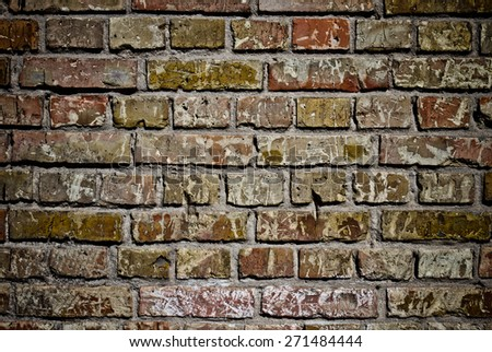 Background of brick wall texture #271484444