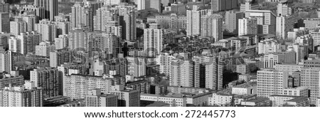 Urban city architecture background from Beijing. #272445773