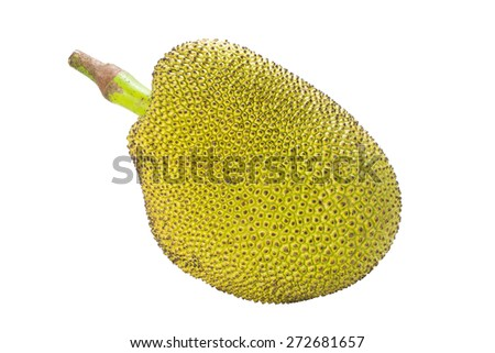 Thai Jack fruit on white background #272681657