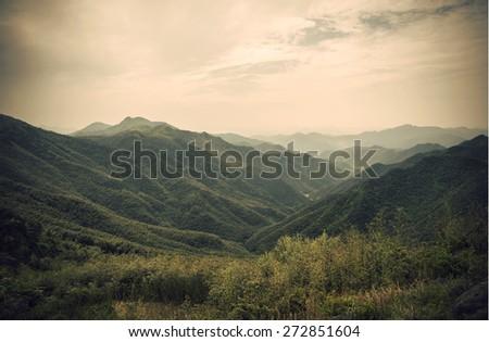 China mountain background #272851604