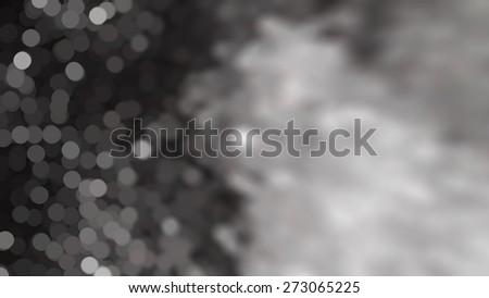 Bokeh light, shimmering blur spot lights on silver abstract background. #273065225
