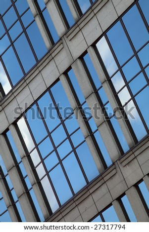 Office building windows #27317794