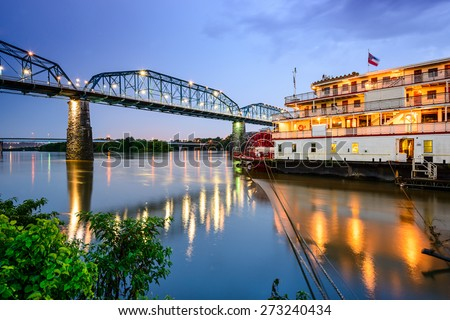 Chattanooga, Tennessee, USA riverfront. #273240434