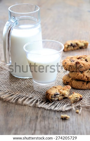 milk and cookies  #274205729