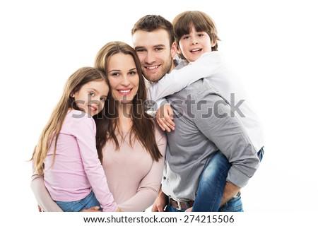 Happy family #274215506