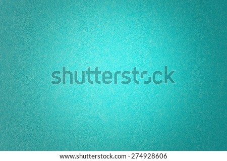 Teal Blue Textured Paper Background Lighter In The Center #274928606