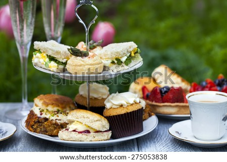 Afternoon tea Royalty-Free Stock Photo #275053838