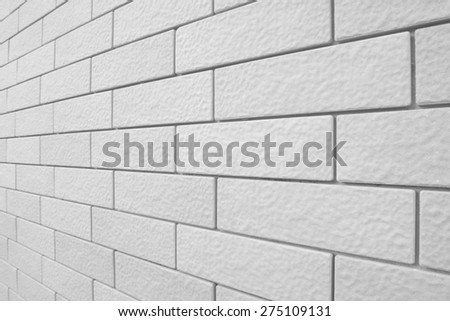 Background of new brick wall #275109131