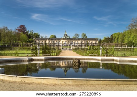 Pictures Gallery located in Sanssouci park, Potsdam town, Germany.