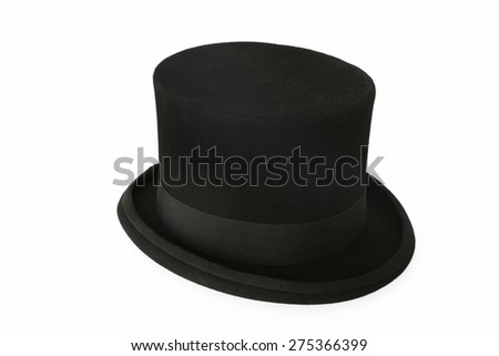Top hat on white #275366399