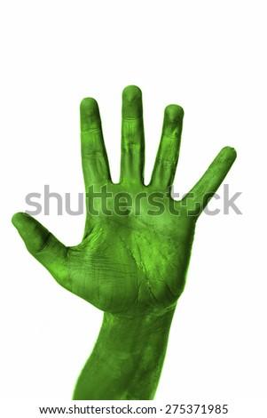 Green Hand #275371985