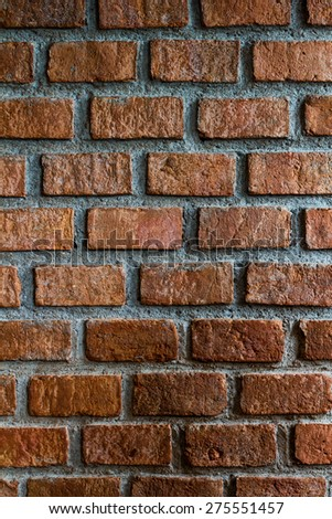 bricks used in the construction, retro style #275551457