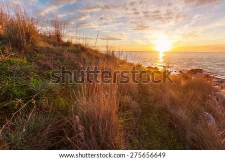 Sea sunset #275656649
