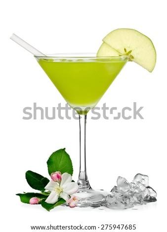 Appletini cocktail #275947685