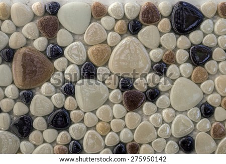 texture mosaic tiles #275950142