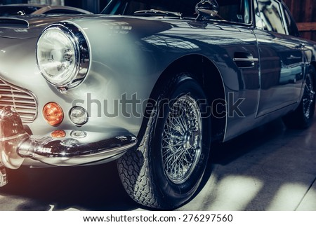 classic car. Royalty-Free Stock Photo #276297560