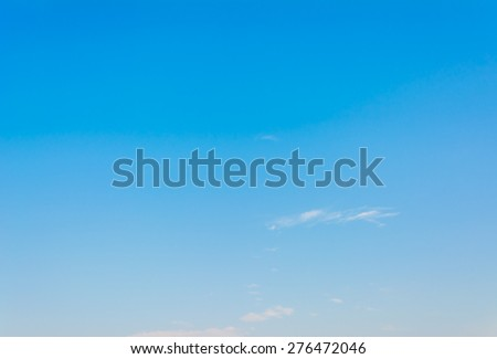 image of clear sky on day time for background usage. #276472046