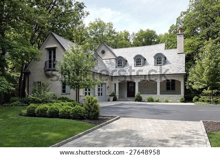 Front photo of luxury home
