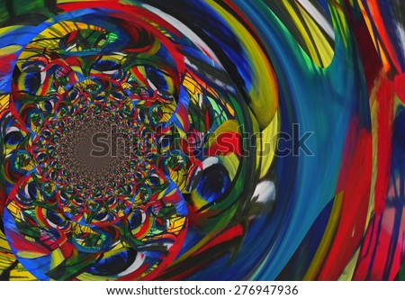 Abstract illustration background graphic design  #276947936