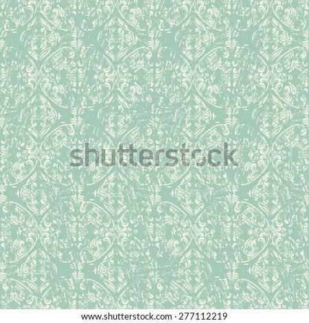 seamless shabby victorian pattern #277112219