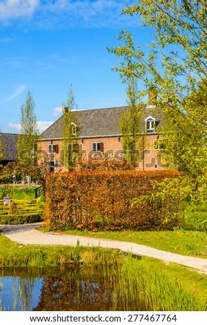 House in Zaanse Schans, quiet village in Netherlands #277467764