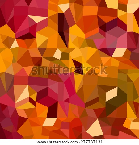 Colorful abstract geometric seamless pattern background with triangles and polygons shapes. Ideal for web and app template, book cover, fabric and gift wrap design.