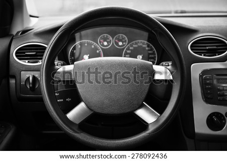 vehicle interior. #278092436