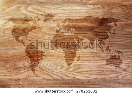 background with an overlay of the map of the world