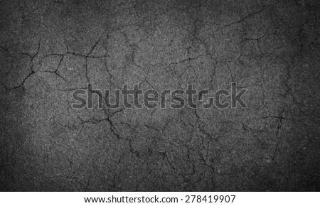 asphalt crack Royalty-Free Stock Photo #278419907
