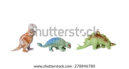 Plastic Toy Dinosaurs #278846780