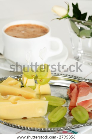 Small snack with coffee #2795356