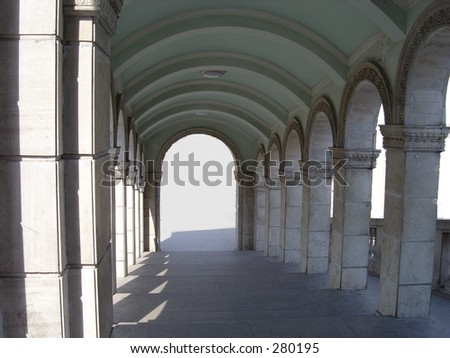 Arch of marble #280195