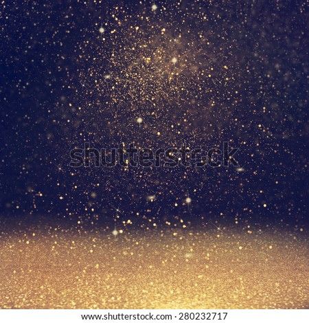 glitter  lights background. defocused. Royalty-Free Stock Photo #280232717