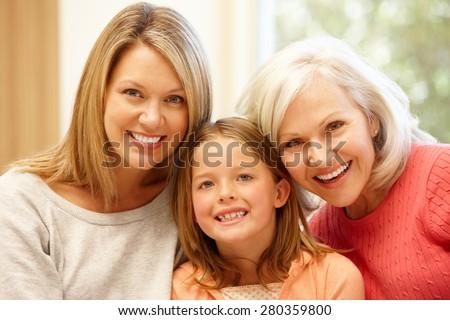 Multi-generation family portrait #280359800