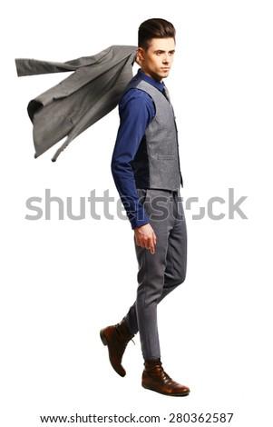 muschyna a business suit , model #280362587