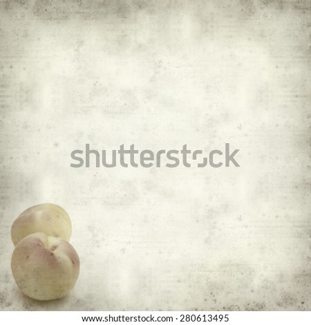 textured old paper background with small apricot #280613495