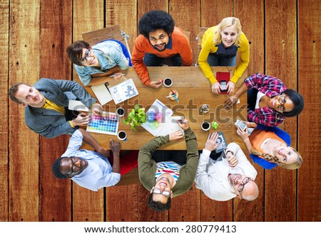 Group of Diverse Designers Having a Meeting Concept #280779413